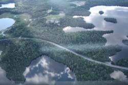 road to round lake
