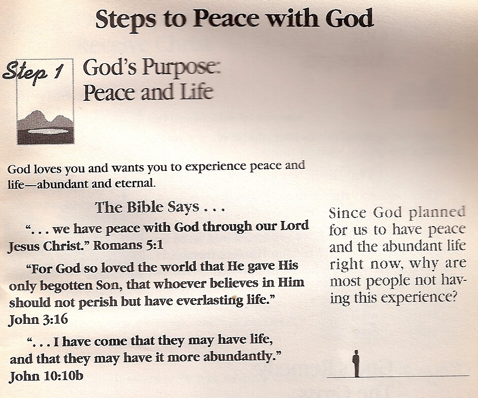 steps to peace with God pg 1