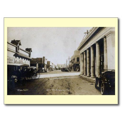 brawley 1920s