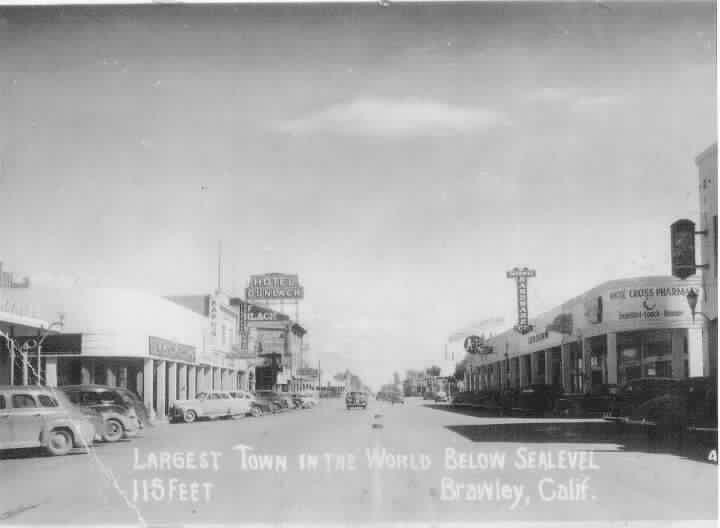 brawley 1930s