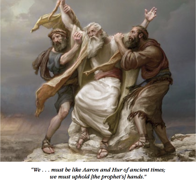 Moses Arms Up
