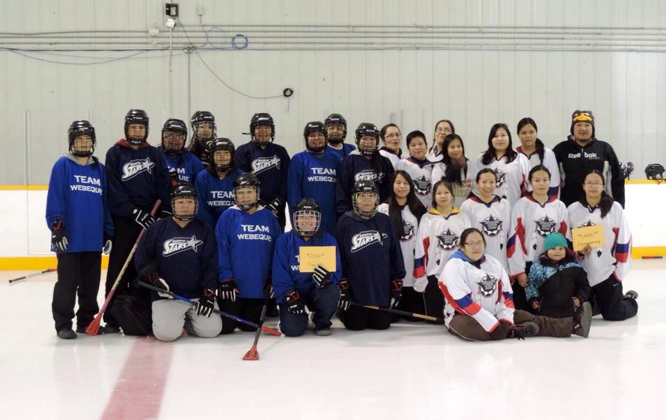 broomball with close community