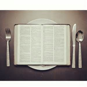 feed yourself on Gods word