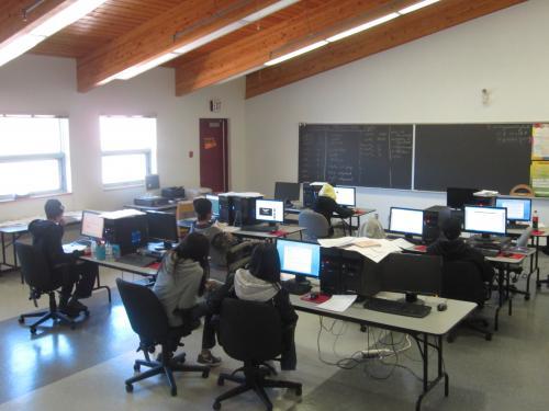 internet class room