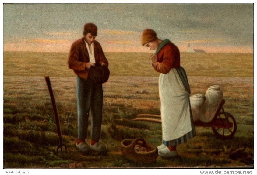 planting and praying couple