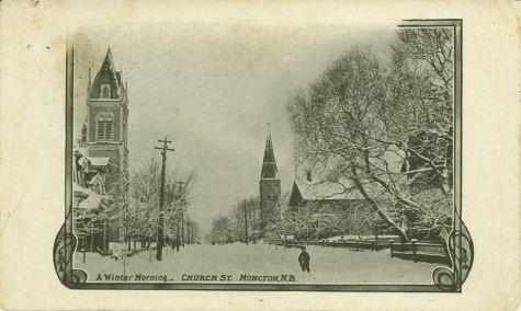 A wintery morning in moncton old pic