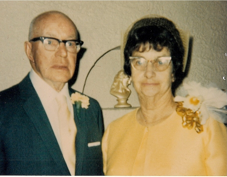 Albert and sarah in their 80s