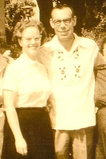 Patsy Mass and Ray Olearts 1960ish
