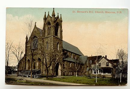 St Bernards church moncton