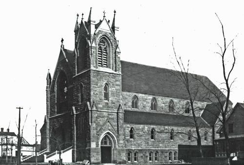 church in 1918