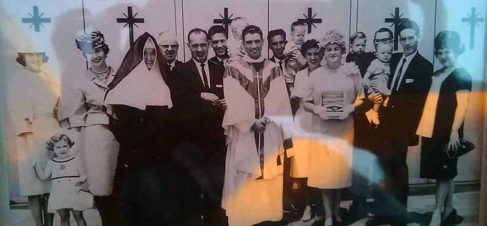 John Nugent family photo 1961