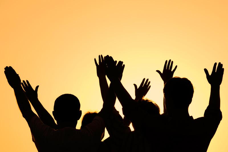rejoicing togetherr
