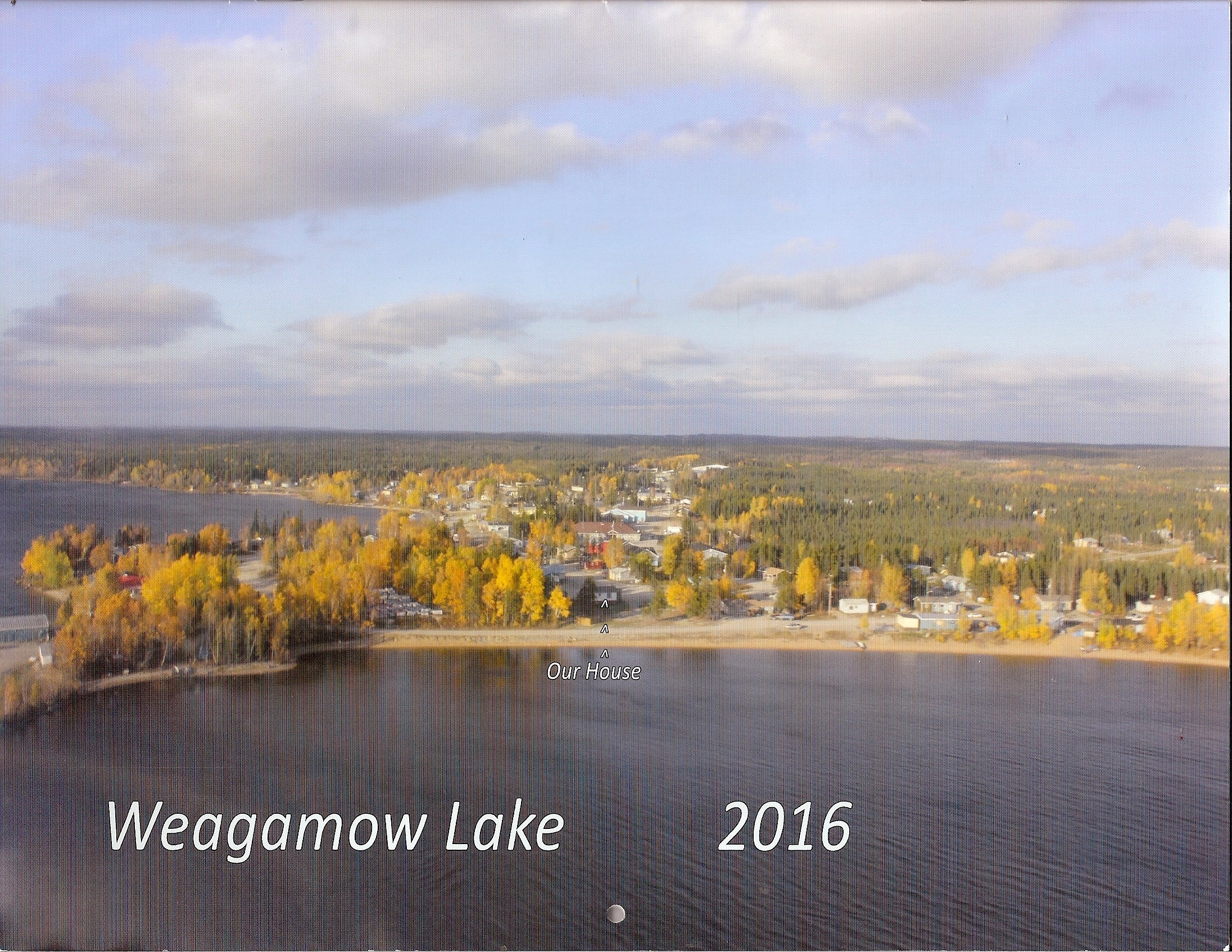town in fall 2015