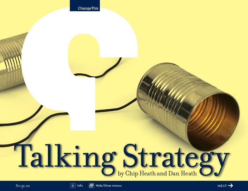 TalkingStrategy